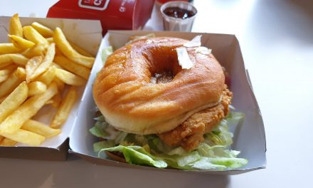Chicken Donut and Maple Burger, Alton Towers, Alton
