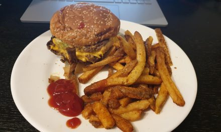 Double Cheeseburger, Five Guys, Chester via Deliveroo