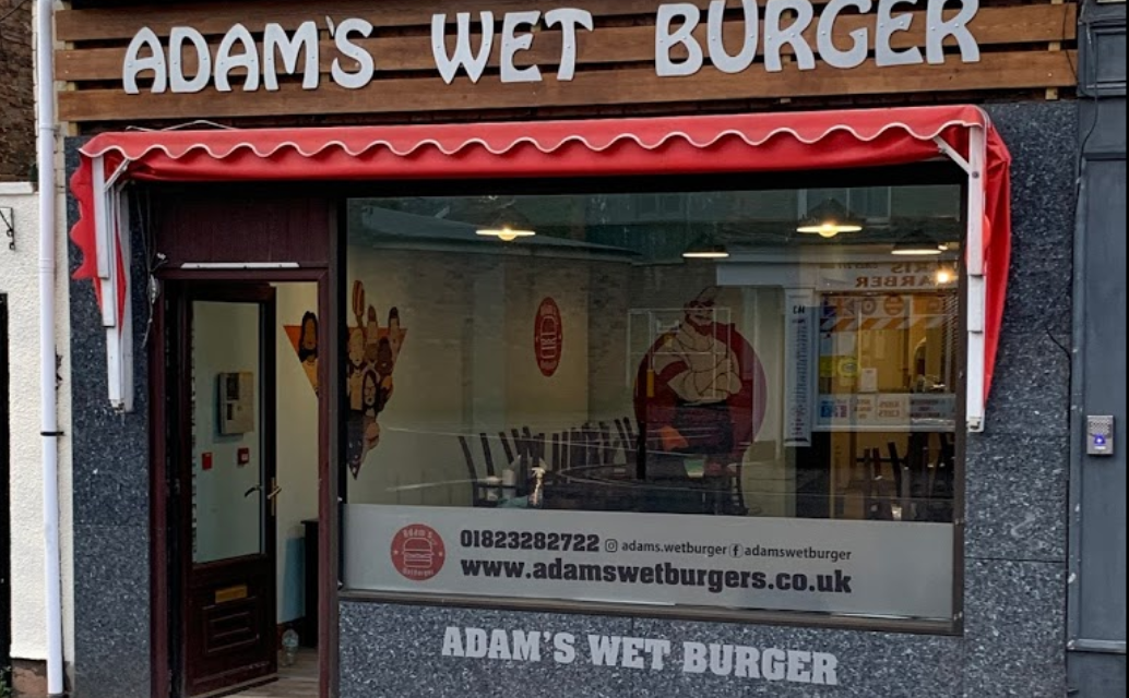 Adam's Wet Burger opens in Taunton