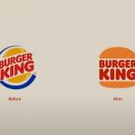 Burger King changes branding back to retro design.